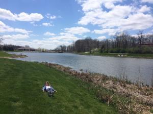 Enjoy fishing in Avon Town Hall Park Lake!