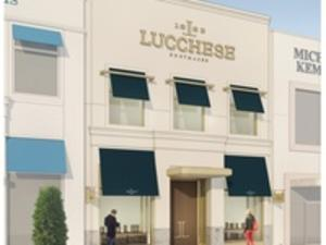 Front of Lucchese in Houston Texas