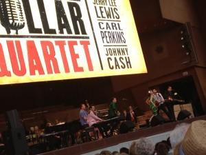 Million Dollar Quartet performing in Chicago's Millennium Park