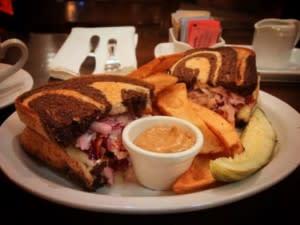 JK O Donnell Reuben Sandwich