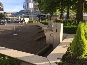 Electric Vehicle Charging Stations at Fairmont Waterfront