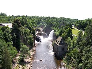 Ausable Chasm Falls Ausable Chasm
