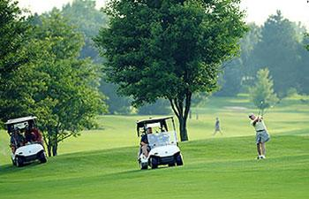 Golfers on Course - Photo by Mark Gutman