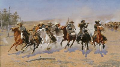 A Dash for the Timber - Amon Carter