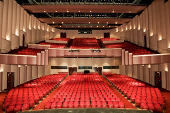 Wortham Center seating