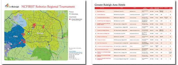 NC Robotics map
