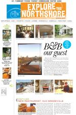 Explore the Northshore Spring 2017 front page