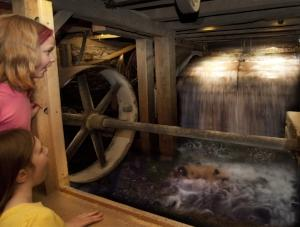 Waterwheel - Hanford Mills Museum