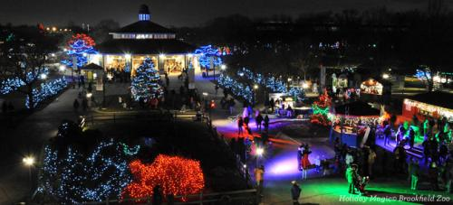 holiday magic brookfield zoo - Holiday Christmas Lights