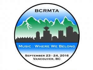 BC Registered Music Teachers' Association 2016 Logo