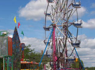 strawberry Festival rides