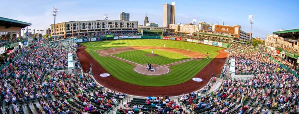 TinCaps Baseball at Parkview Field