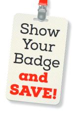 Saving Badge