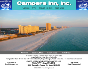 Panama City Beach Campgrounds