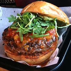 Head to The Burger Stand at College Hill for a juicy burger.