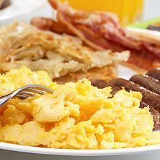 A tasty breakfast is a great way to start your day in Topeka