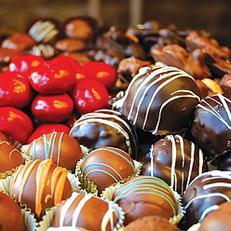 You deserve a treat! Reward yourself with Hazel Hill Chocolates.