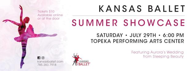 Saturday, July 29, 6 p.m., Topeka Performing Arts Center