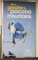 Winter 2015/16 - Transit - Interior Rail Cards - Pocono Mountains Visitors Bureau