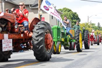 The North Salem Old Fashion Days Parade is not to be missed.
