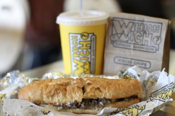 Wich Which Philly Cheesesteak