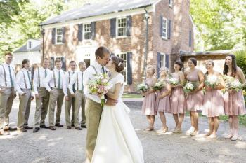 Wedding at The Blanton House in Danville (Erika Brown Photography)