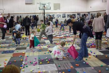Special Egg Hunt at the Well Community Center (credit: THEWELL.community on Facebook)