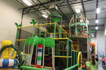 Kid's Planet Indoor Play Area in Brownsburg is a great spot for active play