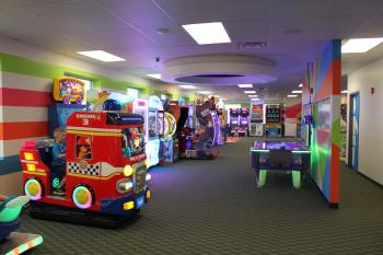 Kid's Planet has TONS of arcade games!
