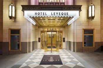 Hotel LeVeque Entrance