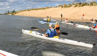 Kayaking Northwest Indiana