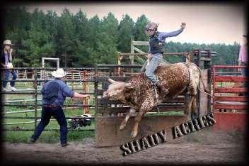 Bull Riding on the Farm