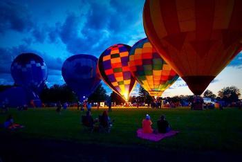 Join in the the Rib-Fest & Avon Balloon Glow activities!