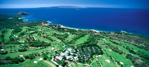 Aerial photo of Wailea, Maui
