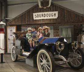 Fountainhead Antique Auto Museum Sourdough Roadhouse