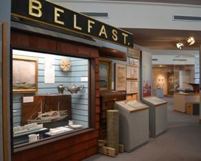 Maritime museum interior