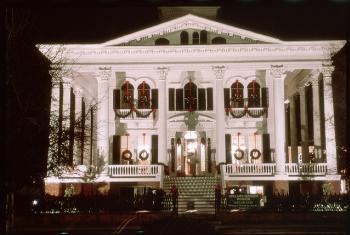 Christmas at Bellamy Mansion