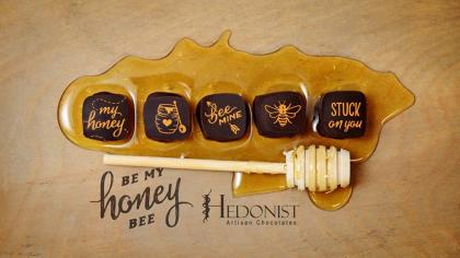 Hedonist Be My Honey Bee Valentine's Day Chocolate