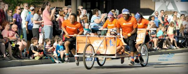 Bed Race - Three Rivers Festival - Fort Wayne, IN