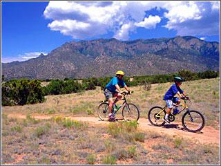 Mountain biking by ron behrmann