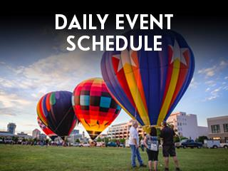 Riverfest Daily Event Schedule Widget