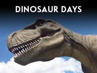 Riverfest Dinosaur Days Widget