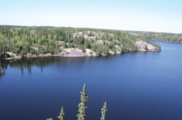 Walking on Ancient Mountains, Nopiming Provincial Park