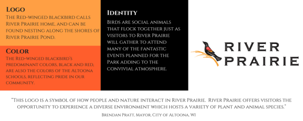 River Prairie Logo Infographic