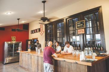 Jester King Brewery interior