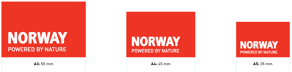 Logo sizes for print