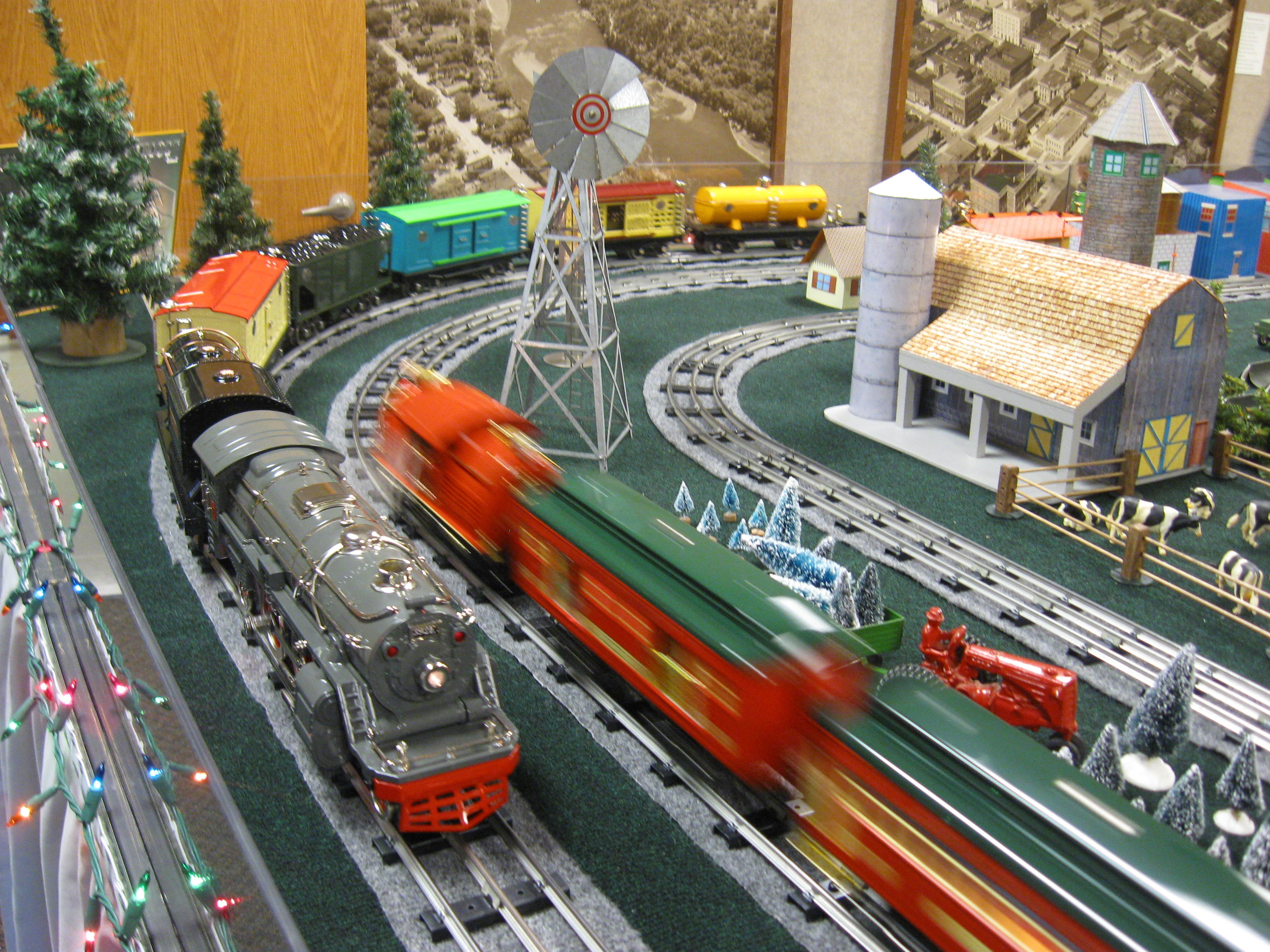 Christmas Train at the Chippewa Valley Museum - Photo by: Chippewa Valley Museum