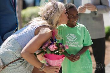 Azalea Queen at Boys & Girls Club