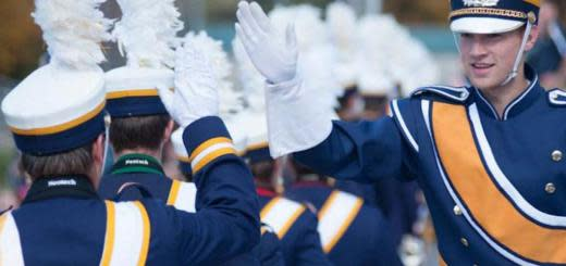 Blugold Marching Band in Eau Claire