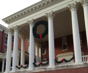 Georgia College Campus Christmas